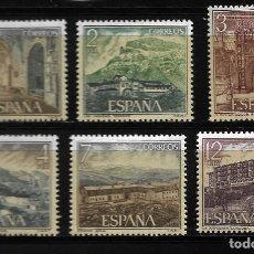 Sellos: II CENTENARIO - SERIE TURISTICA - EDIFIL 2334-39 - 1976. Lote 255934945