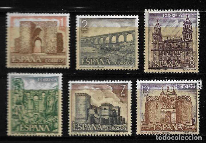 II CENTENARIO - SERIE TURISTICA - EDIFIL 2417-22 - 1977 (Sellos - España - Juan Carlos I - Desde 1.975 a 1.985 - Nuevos)