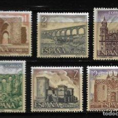 Sellos: II CENTENARIO - SERIE TURISTICA - EDIFIL 2417-22 - 1977. Lote 255935070