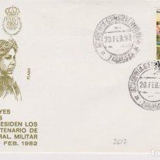 Sellos: AÑO 1982 EDIFIL 2617 SPD FDC ACTOS CENTENARIO ACADEMIA GRAL MILITAR ZARAGOZA. Lote 257273790