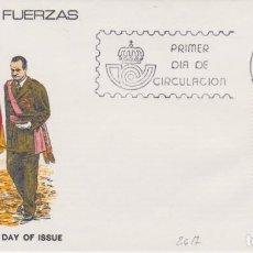 Sellos: AÑO 1981 EDIFIL 2617 SPD FDC DIA DE LAS FUERZAS ARMADAS MADRID. Lote 257274295