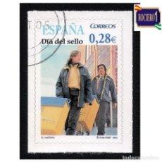 Sellos: ESPAÑA 2005. EDIFIL 4174. DIA DEL SELLO. EL CARTERO. NUEVO-MATASELL0 1º DIA. Lote 257288415