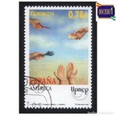 Sellos: ESPAÑA 2005. EDIFIL 4189. AMERICA-UPAEP. NUEVO-MATASELLO 1º DIA. Lote 257290905