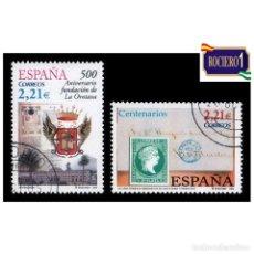 Sellos: ESPAÑA 2005. EDIFIL 4190-91 4191. CENTENARIOS. NUEVO-MATASELLO 1º DIA. Lote 257293470