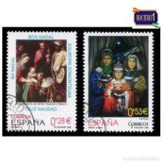 Sellos: ESPAÑA 2005. EDIFIL 4194-95 4195. NAVIDAD. NUEVO-MATASELLO 1º DIA. Lote 257296315