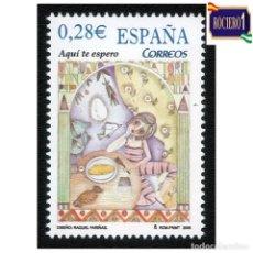 Sellos: ESPAÑA 2005. EDIFIL SH 4154B, 4154 B. NIÑOS. CANCIONES Y CUENTOS POPULARES. NUEVO** MNH. Lote 257298955