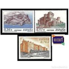 Sellos: ESPAÑA 2003. EDIFIL 3986-88 3988. CASTILLOS. NUEVO** MNH. Lote 257318150