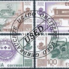 Sellos: 1981 ESPAÑA ED 2641A/2641B SH MUSEO POSTAL FILATELIA (O) USADO, BUEN ESTADO (EDIFIL). Lote 257365650