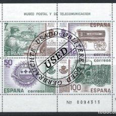 Sellos: 1981 ESPAÑA ED 2641 HB MUSEO POSTAL SELLOS (O) USADO, BUEN ESTADO (EDIFIL). Lote 257365670