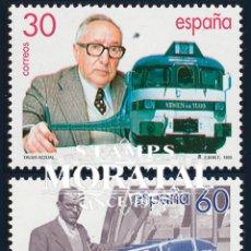 Sellos: 1995 ESPAÑA ED 3347/3348 TREN TALGO FERROCARRIL **MNH PERFECTO ESTADO, NUEVO SIN CHARNELA (EDIFIL). Lote 257365890
