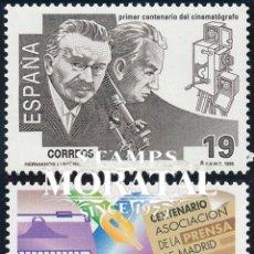Sellos: 1995 ESPAÑA ED 3362/3363 PRENSA PERIODICOS **MNH PERFECTO ESTADO, NUEVO SIN CHARNELA (EDIFIL). Lote 257365905