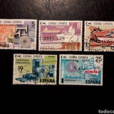 Sellos: ESPAÑA EDIFIL 2563/7 SERIE COMPLETA USADA 1980 ESPAÑA EXPORTA PEDIDO MÍNIMO 3€. Lote 257559095