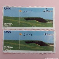 Sellos: SELLO ESPAÑA EDIFIL 4091 C. DEPORTES. GOLF. AÑO 2004. USADO.. Lote 257675270
