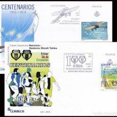 Sellos: 2013 ESPAÑA ED 4796/4797 AVIACION CANARIA. BASCONIA AVIONES SPD BUEN ESTADO (FDC) (EDIFIL). Lote 269996263
