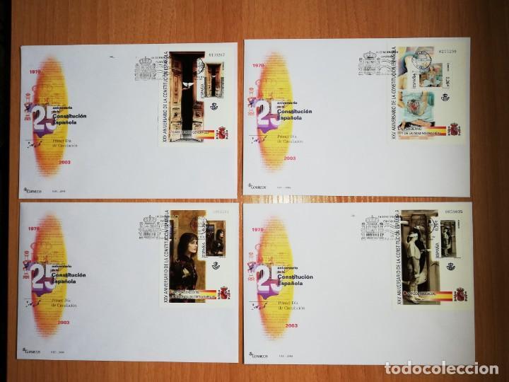 Sellos: AÑO COMPLETO 2003 SOBRES DE PRIMER DÍA FDC GRAN OCASION Y OFERTA ÚNICA(CON ÁLBUM Y HOJAS) - Foto 8 - 259891585