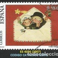 Selos: ESPAÑA 2007 - ES 4356 - TEMA NAVIDAD (VER IMAGEN) - 1 SELLO USADO. Lote 259918075