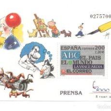 Sellos: HOJITA SELLO PRENSA (FACIAL 1,20 €). Lote 260078240