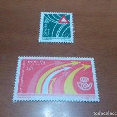 Selos: 2 SELLOS DE 17 Y 180 PESETAS SERVICIOS PUBLICOS 1993 EDIFIL 3237 Y 3240 NUEVOS. Lote 260504215