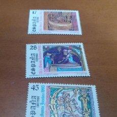 Selos: 3 SELLOS AÑO SANTO JACOBEO 1993 EDIFIL 3252 AL 3254 NUEVOS. Lote 260507940