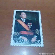 Selos: SELLO DE 28 PESETAS DON JUAN DE BORBON Y BATTENBERG 1993 EDIFIL 3264 NUEVO. Lote 260514575