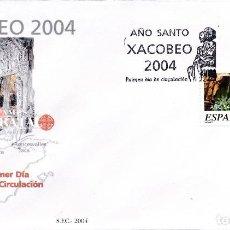 Sellos: 2004 ESPAÑA ED 4095 XACOBEO PINTURA SPD BUEN ESTADO (FDC) (EDIFIL). Lote 260597435