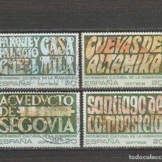 Timbres: ESPAÑA. Nº 3038/41. AÑO 1989. PATRIMONIO DE LA HUMANIDAD. USADO.. Lote 260736430
