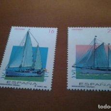 Selos: 2 SELLOS DE 16 Y 29 PESETAS BARCOS DE EPOCA 1994 EDIFIL 3314 Y 3315 NUEVOS. Lote 260860765