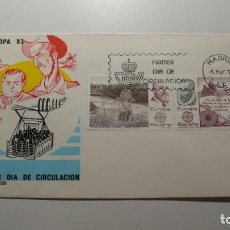 Sellos: ESPAÑA 1983 - SPD - FDC - EUROPA CEPT - EDIFIL Nº 2703/2704. Lote 261182410
