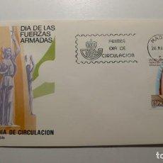 Sellos: ESPAÑA 1983 - SPD - FDC - DIA DE LAS FUERZAS ARMADAS - EDIFIL Nº 2710. Lote 261184370