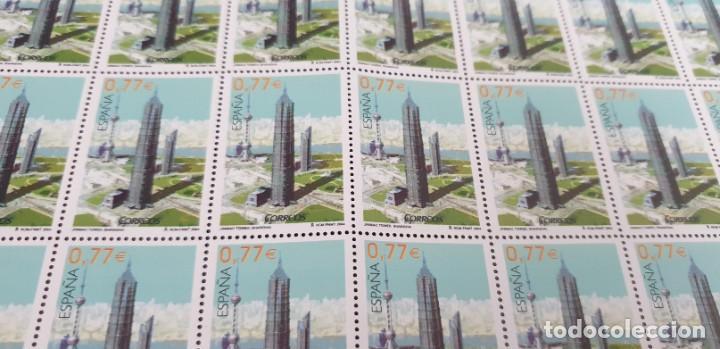 PLIEGO COMPLETO - FACIAL 38,5 € (50 X 0,77€ ) - JINMAO TOWER SHANGAY - EDIFIL 4119 (Sellos - España - Juan Carlos I - Desde 2.000 - Nuevos)