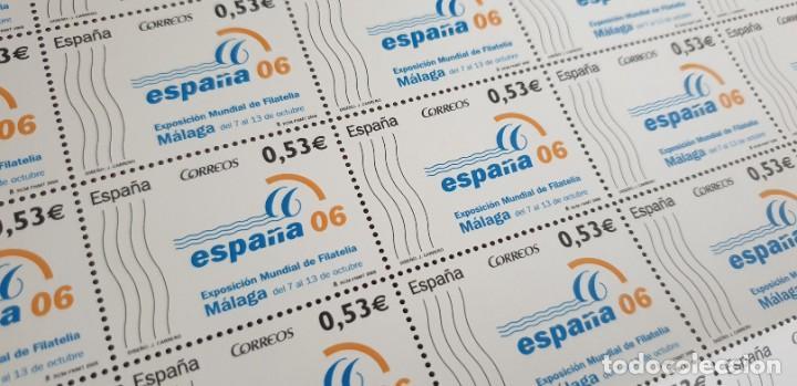 PLIEGO COMPLETO - FACIAL 26,5 € (50 X 0,53€ ) - EXFILNA MÁLAGA - EDIFIL 4185 (Sellos - España - Juan Carlos I - Desde 2.000 - Nuevos)