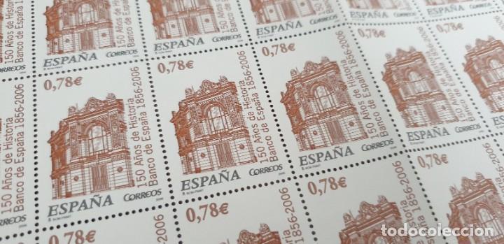 PLIEGO COMPLETO - FACIAL 39 € (50 X 0,78€ ) - 150 ANIV BANCO DE ESPAÑA - EDIFIL 4220 (Sellos - España - Juan Carlos I - Desde 2.000 - Nuevos)