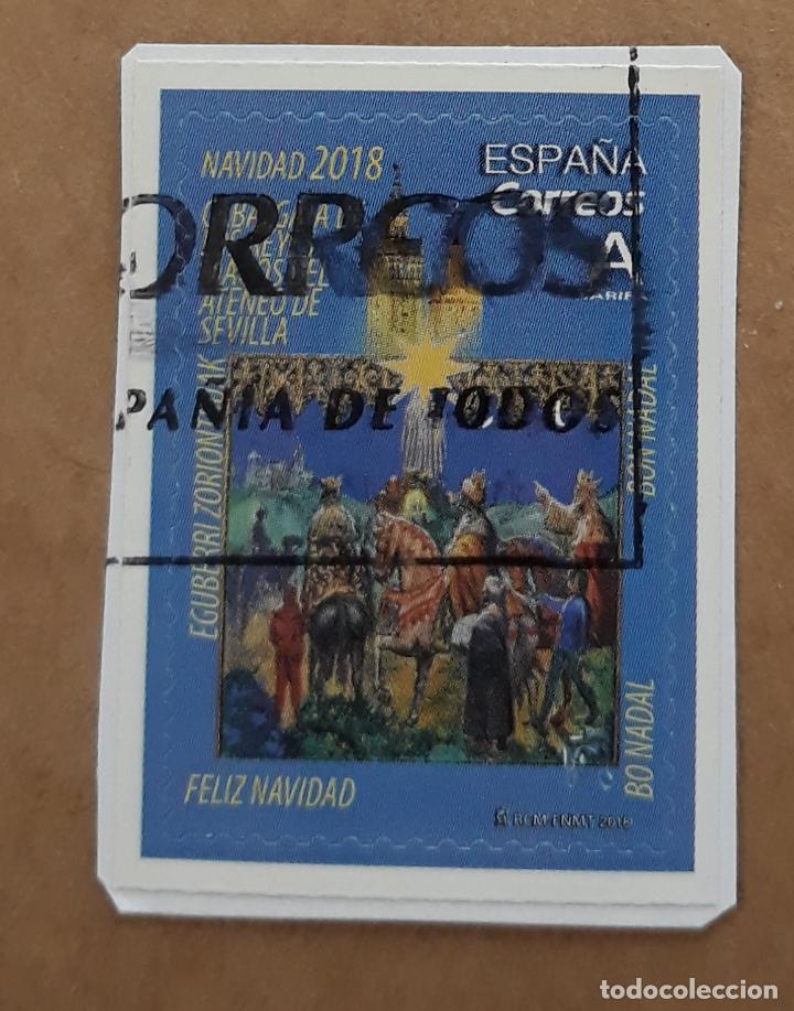 SELLO ESPAÑA 2018 EDIFIL 5259 CABALGATA DE LOS REYES MAGOS DEL ATENEO DE SEVILLA. (Sellos - España - Juan Carlos I - Desde 2.000 - Usados)