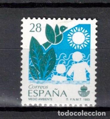ESPAÑA 1993 EDIFIL 3238 - SERVICIOS PUBLICOS (Sellos - España - Juan Carlos I - Desde 1.986 a 1.999 - Usados)