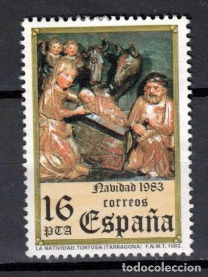 ESPAÑA 1983 EDIFIL 2729 - NAVIDAD (Sellos - España - Juan Carlos I - Desde 1.986 a 1.999 - Usados)
