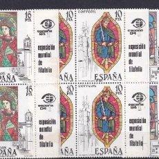 Sellos: SELLOS ESPAÑA AÑO 1983 EDIFIL 2721/2723 EN NUEVO VALOR DE CATALOGO 3 € SERIE COMPLETA. Lote 261589720