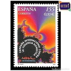 Sellos: ESPAÑA 2001. EDIFIL 3779. CONTRA LA VIOLENCIA DE GENERO. NUEVO** MNH. Lote 261626000