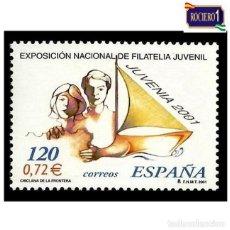 Sellos: ESPAÑA 2001. EDIFIL 3781. JUVENIA. NUEVO** MNH. Lote 261626380
