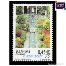 Sellos: ESPAÑA 2001. EDIFIL 3796. EUROPA. NUEVO** MNH. Lote 261628505