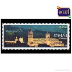 Sellos: ESPAÑA 2001. EDIFIL 3813. SALAMANCA 2002. NUEVO** MNH. Lote 261630030