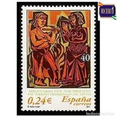 Sellos: ESPAÑA 2001. EDIFIL 3817, SANTO DOMINGO DE SILOS. NUEVO** MNH. Lote 261630890
