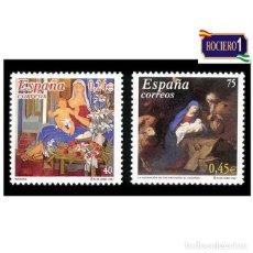 Sellos: ESPAÑA 2001. EDIFIL 3835-36 3836. NAVIDAD. NUEVO** MNH. Lote 261631810
