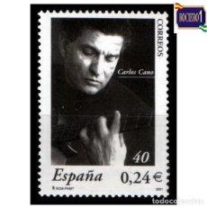 Sellos: ESPAÑA 2001. EDIFIL 3841. CARLOS CANO. NUEVO** MNH. Lote 261631965