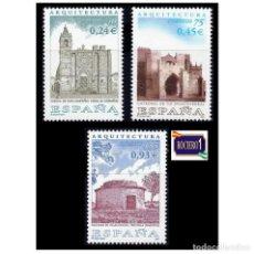Sellos: ESPAÑA 2001. EDIFIL 3797-99 3799. ARQUITECTURA. NUEVO** MNH. Lote 261633095