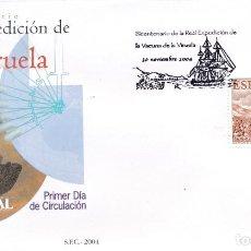 Sellos: 2004 ESPAÑA ED 4131 VACUNA VIRUELA BALMIS ZENDAL MEDICINA SPD BUEN ESTADO (FDC) (EDIFIL). Lote 261674845