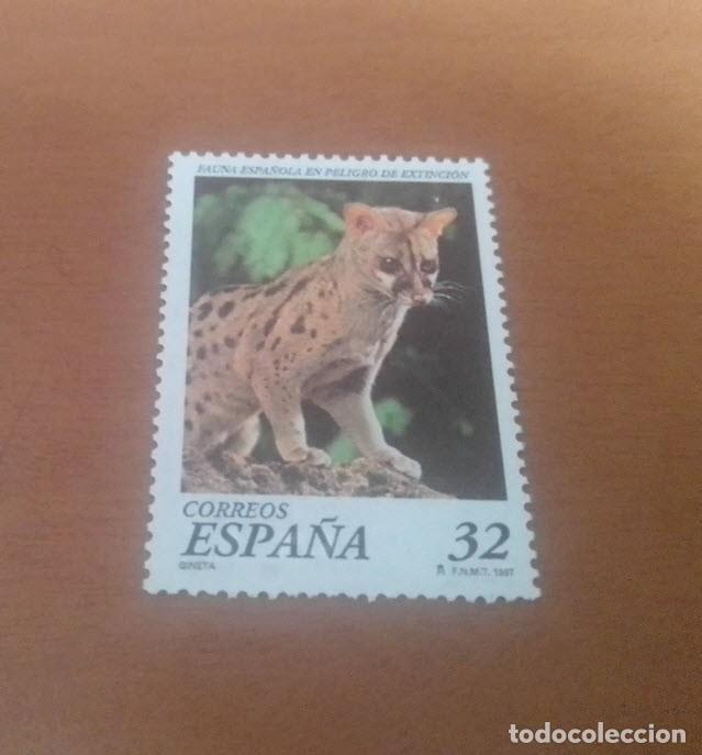 SELLO DE 32 PESETAS FAUNA ESPAÑOLA EN PELIGRO DE EXTINCION 1997 EDIFIL 3469 NUEVO (Sellos - España - Juan Carlos I - Desde 1.986 a 1.999 - Usados)