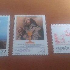 Selos: 3 SELLOS EFEMERIDES 1997 EDIFIL 3505 AL 3507 NUEVOS. Lote 261799005