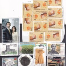 Selos: LOTE NUMERO 13 CON SELLOS SIN LAVAR DE ESPAÑA. DESTACAN CUATRO FACIALES ALTOS (2, 2, 2,49 Y 3 EUROS). Lote 261801345