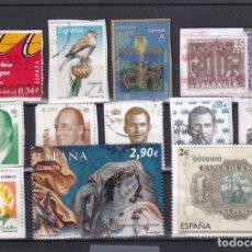 Selos: LOTE NUMERO 15 CON TRECE SELLOS USADOS DE ESPAÑA. DESTACAN DOS FACIALES ALTOS (2 Y 2,90 TAPICES 2012. Lote 261805995