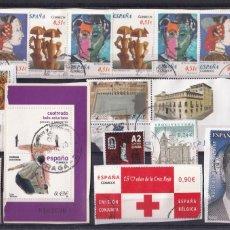Selos: LOTE NUMERO 16 CON DIECIOCHO SELLOS USADOS DE ESPAÑA. DESTACAN DOS FACIALES ALTOS (1,80 Y 3,10 EUROS. Lote 261807275